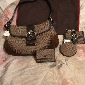 Coach Bag, wallet, coin purse and card case